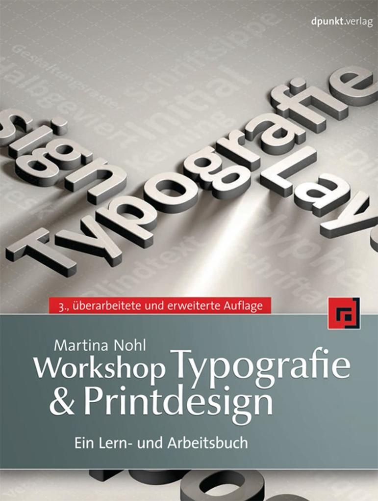 Workshop Typografie & Printdesign als eBook pdf