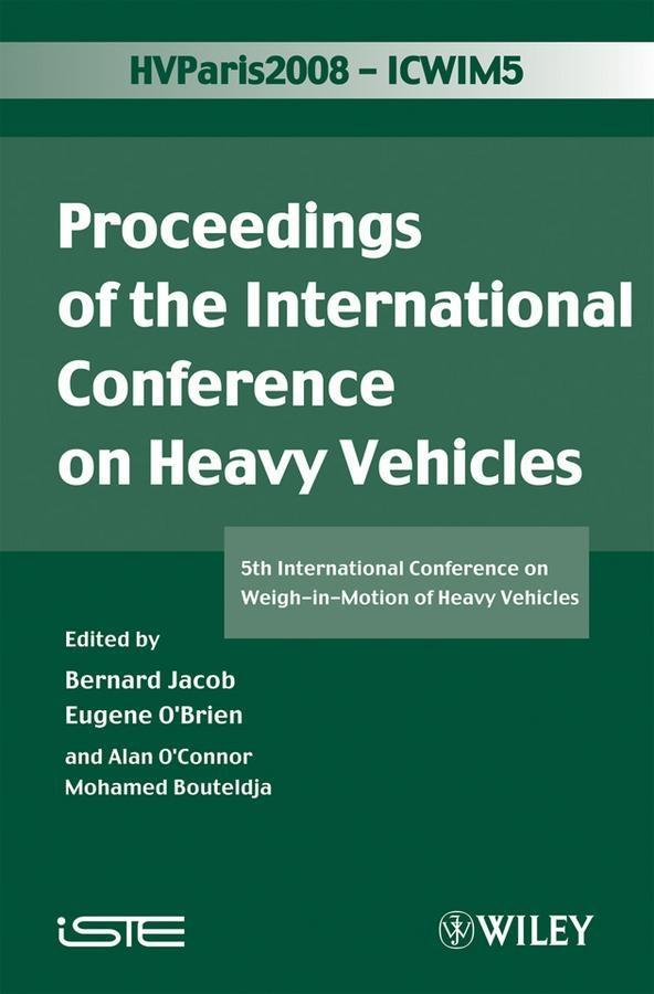 ICWIM 5, Proceedings of the International Conference on Heavy Vehicles als eBook pdf