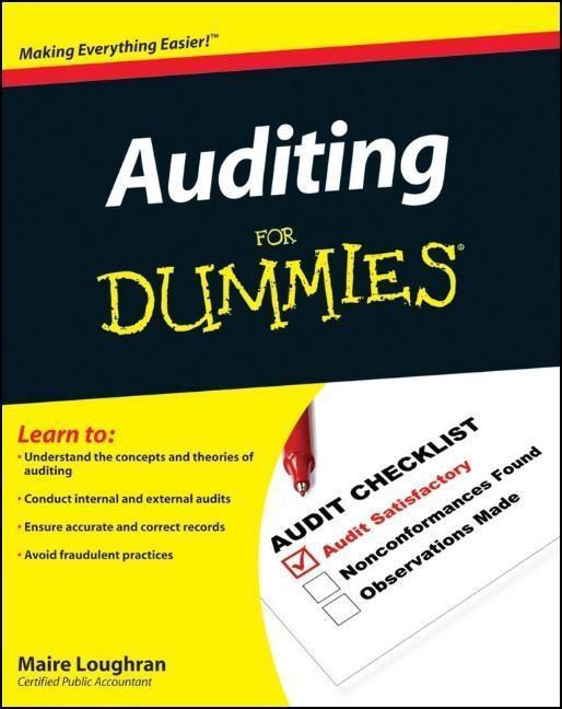 Auditing For Dummies als eBook epub