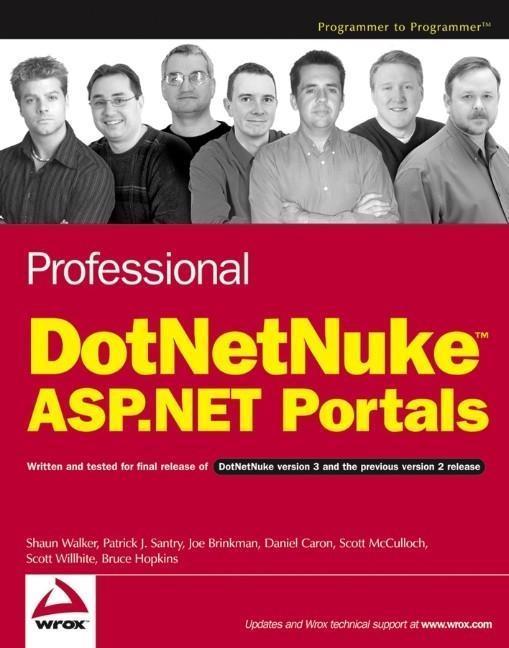 Professional DotNetNuke ASP.NET Portals als eBook pdf