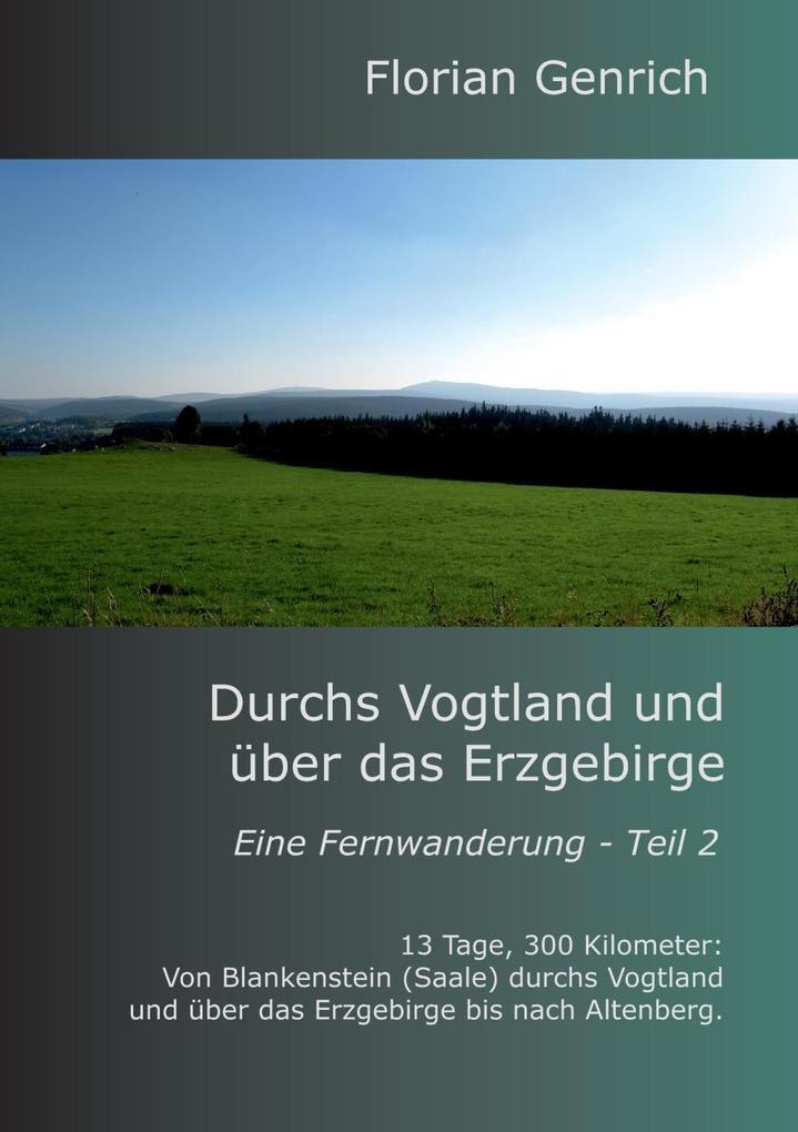 Durchs Vogtland und über das Erzgebirge als eBook