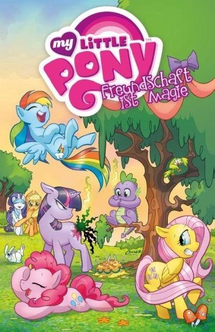 My little Pony 01 - Freundschaft ist Magie - Die Rückkehr von Königin Chrysalis als Taschenbuch