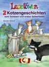Leselöwen - 2 Katzengeschichten zum Vorlesen und ersten Selberlesen