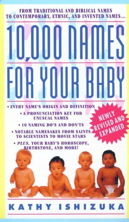 10,000 Names for Your Baby als eBook epub