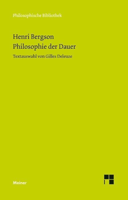 Philosophie der Dauer als Buch (kartoniert)