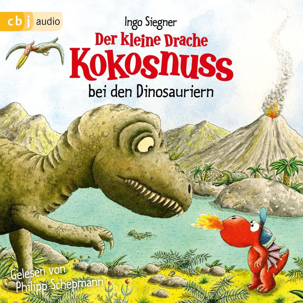 Der kleine Drache Kokosnuss bei den Dinosauriern als Hörbuch Download