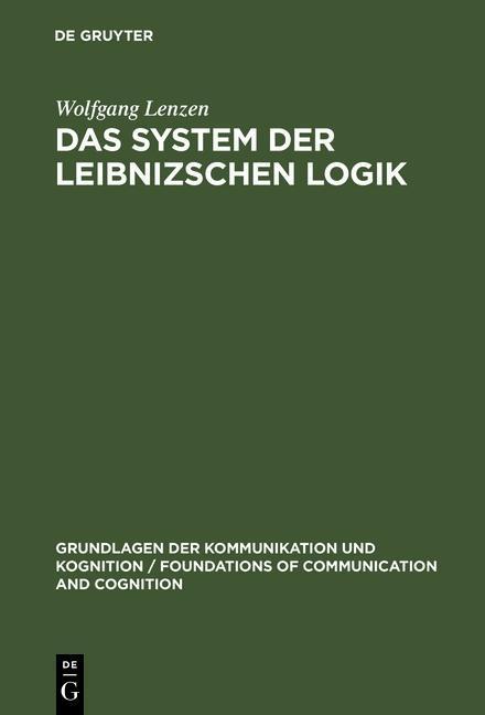 Das System der Leibnizschen Logik als eBook pdf