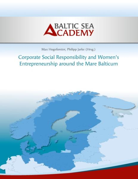 Corporate Social Responsibility and Women's Entrepreneurship around the Mare Balticum als Buch (kartoniert)