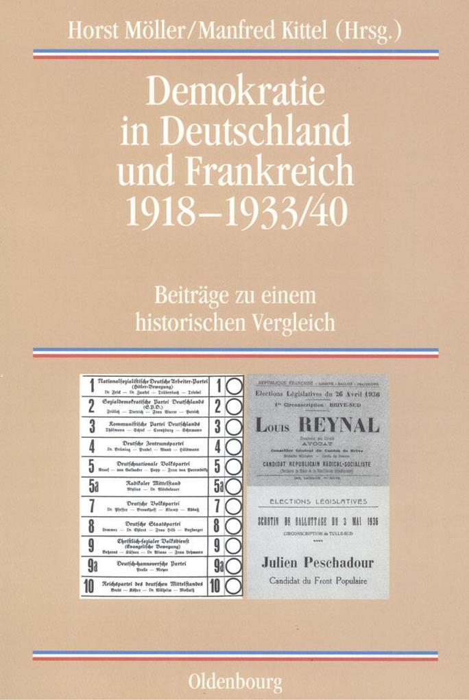 Demokratie in Deutschland und Frankreich 1918-1933/40 als eBook pdf