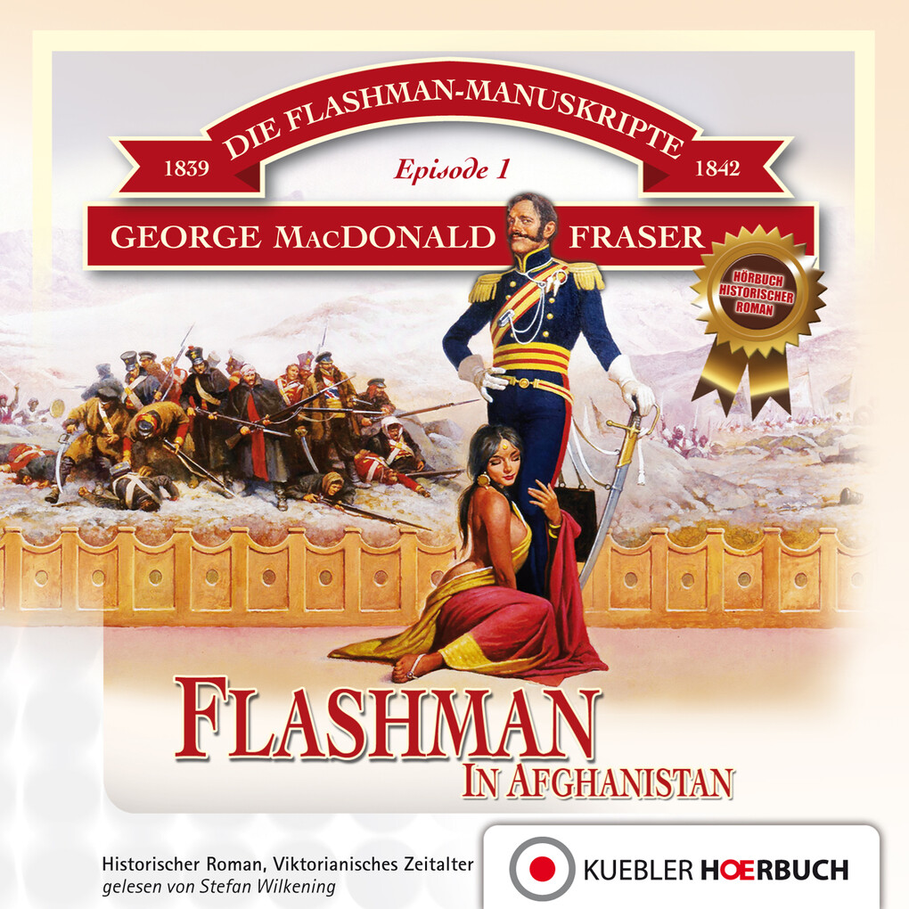 Flashman in Afghanistan als Hörbuch Download