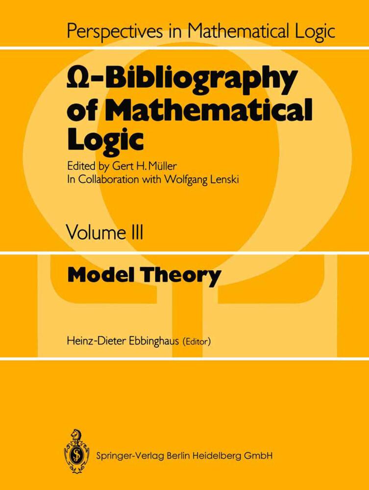 O-Bibliography of Mathematical Logic als Buch (kartoniert)