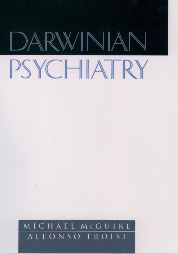 Darwinian Psychiatry als eBook pdf