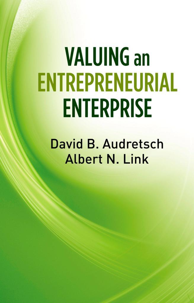 Valuing an Entrepreneurial Enterprise als eBook epub