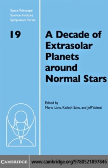 Decade of Extrasolar Planets around Normal Stars als eBook pdf