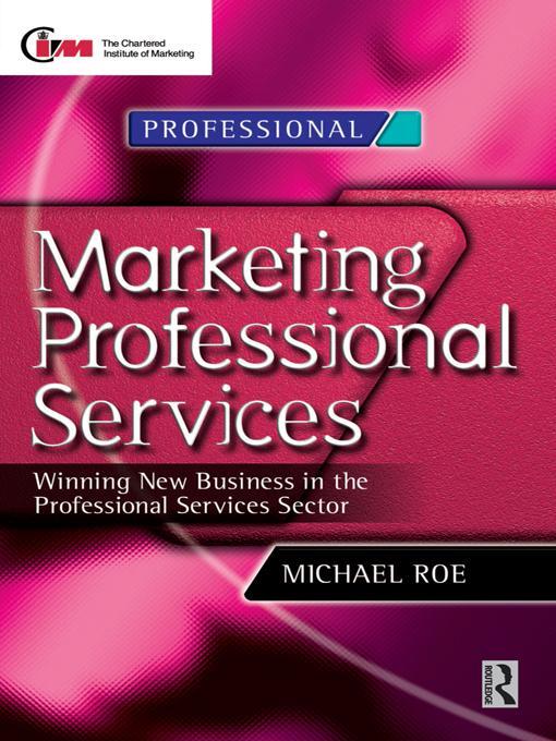 Marketing Professional Services als eBook epub