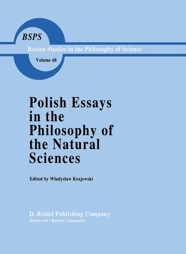 Polish Essays in the Philosophy of the Natural Sciences als Buch (gebunden)