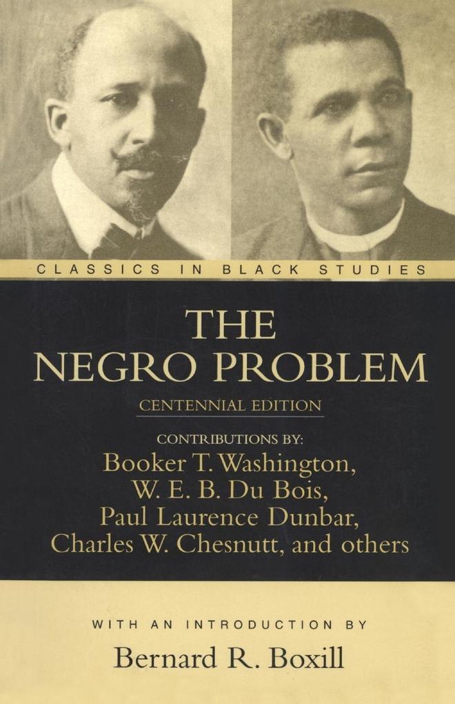 The Negro Problem als Taschenbuch