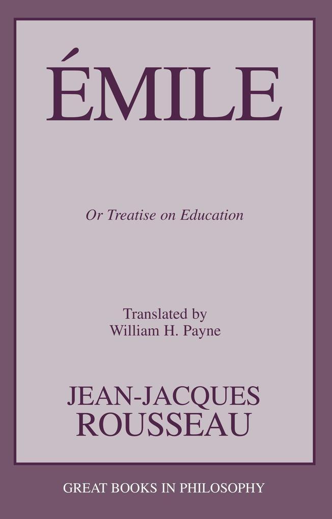 Emile als Taschenbuch