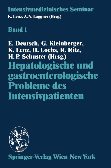 Hepatologische und gastroenterologische Probleme des Intensivpatienten als Buch (kartoniert)