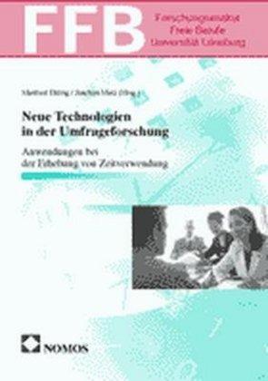 Neue Technologien in der Umfrageforschung als Buch (kartoniert)
