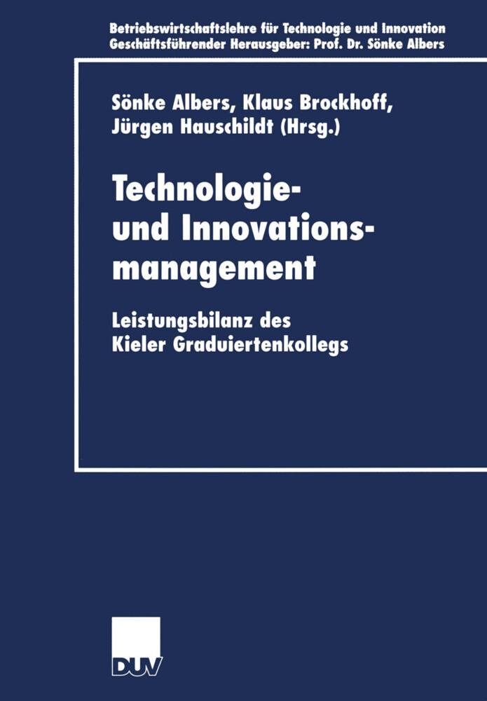 Technologie- und Innovationsmanagement als Buch (kartoniert)