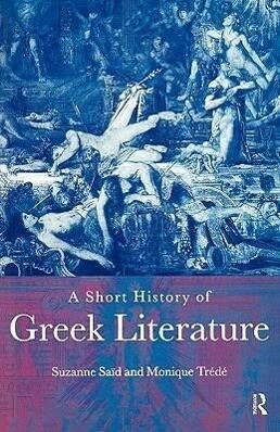 A Short History of Greek Literature als Buch