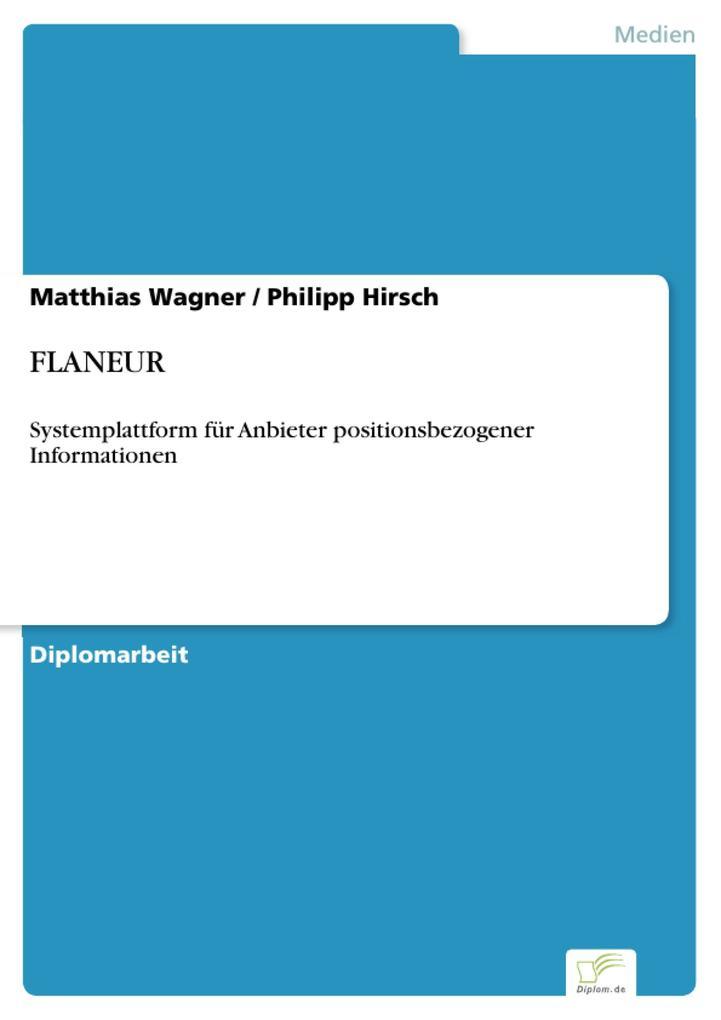 FLANEUR als eBook pdf
