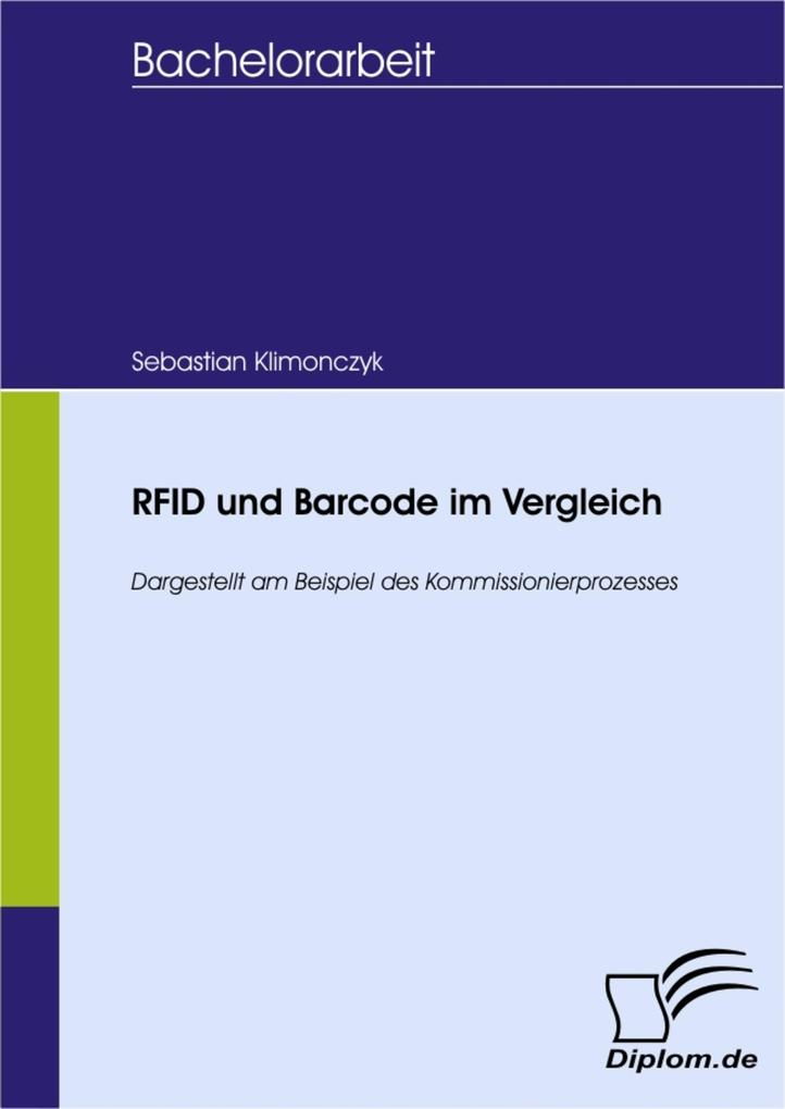 RFID und Barcode im Vergleich als eBook pdf