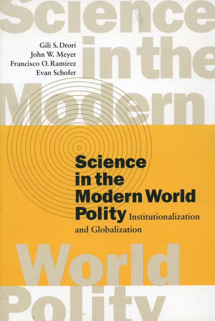 Science in the Modern World Polity als Taschenbuch