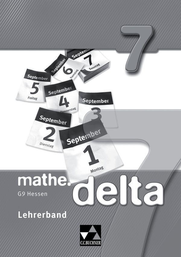 mathe.delta 7 Lehrerband Hessen (G9) als Buch (kartoniert)