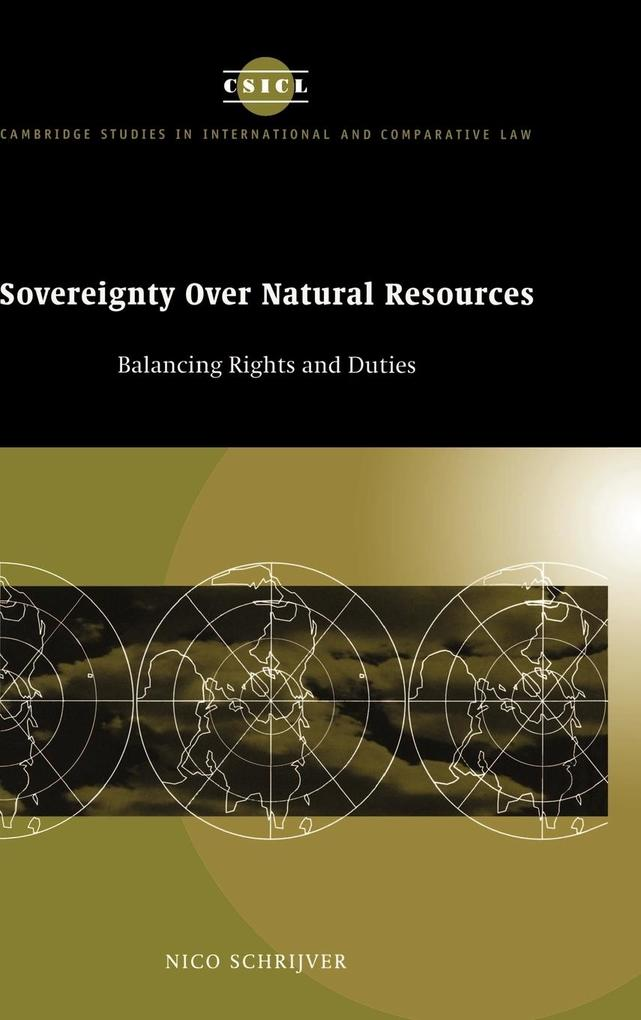 Sovereignty Over Natural Resources als Buch (gebunden)