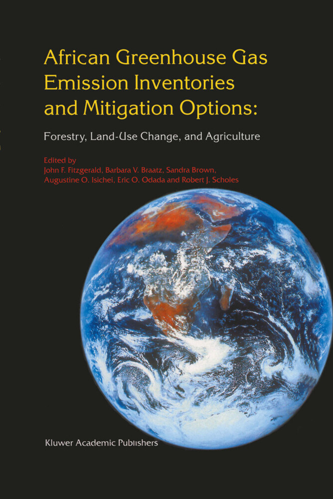 African Greenhouse Gas Emission Inventories and Mitigation Options: Forestry, Land-Use Change, and Agriculture als Buch (gebunden)