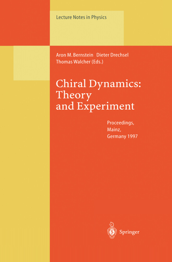 Chiral Dynamics: Theory and Experiment als Buch (kartoniert)