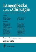 Verhandlungen der Deutschen Gesellschaft für Chirurgie als Buch (kartoniert)