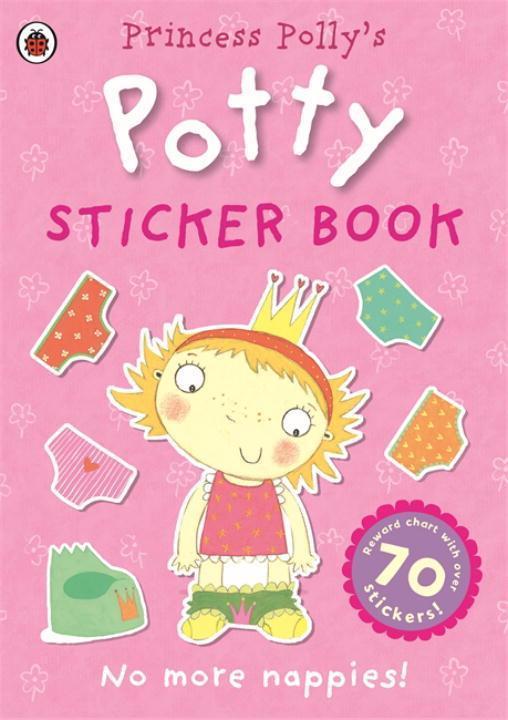 Princess Polly's Potty sticker activity book als Taschenbuch