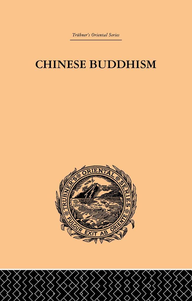 Chinese Buddhism als eBook epub