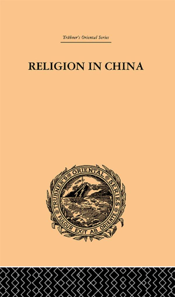 Religion in China als eBook pdf