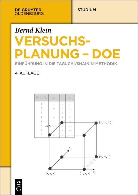 Versuchsplanung - DoE als eBook pdf