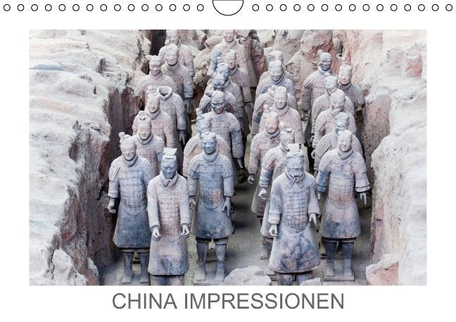 China Impressionen (Wandkalender immerwährend DIN A4 quer) als Kalender