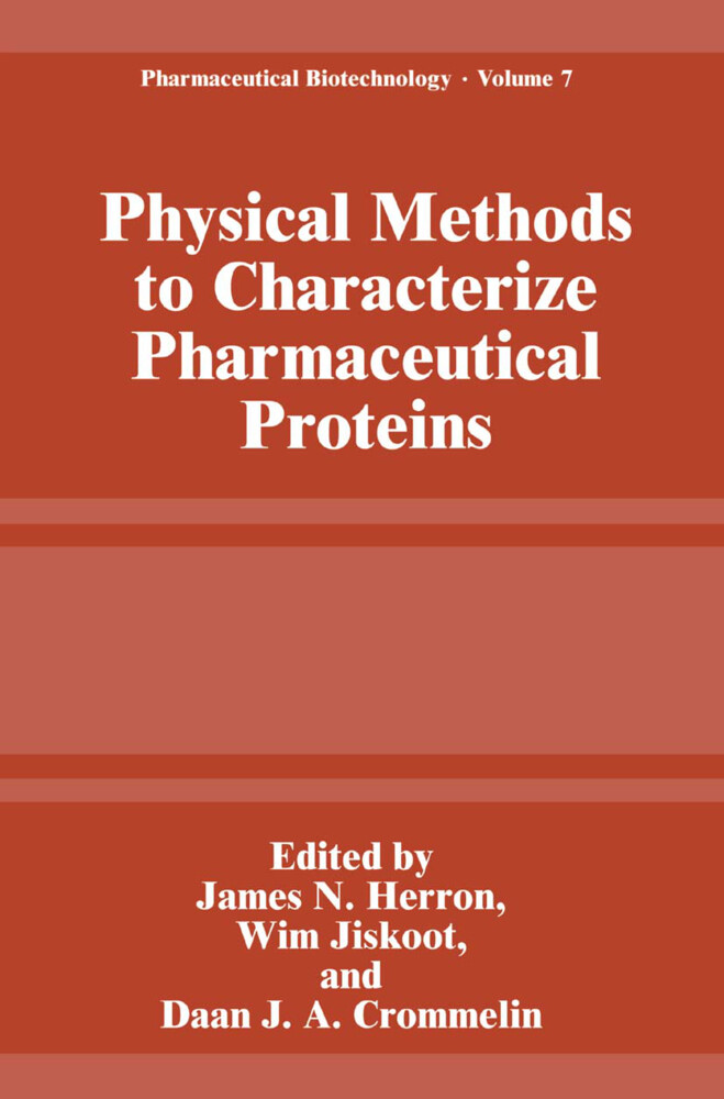 Physical Methods to Characterize Pharmaceutical Proteins als Buch (kartoniert)