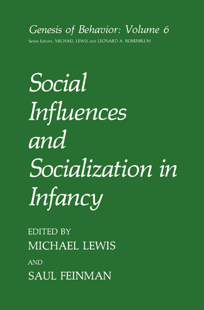 Social Influences and Socialization in Infancy als Buch (kartoniert)