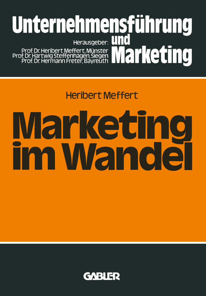 Marketing im Wandel als Buch (kartoniert)