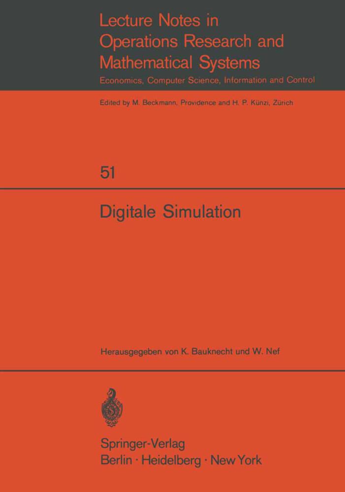 Digitale Simulation als Buch (kartoniert)