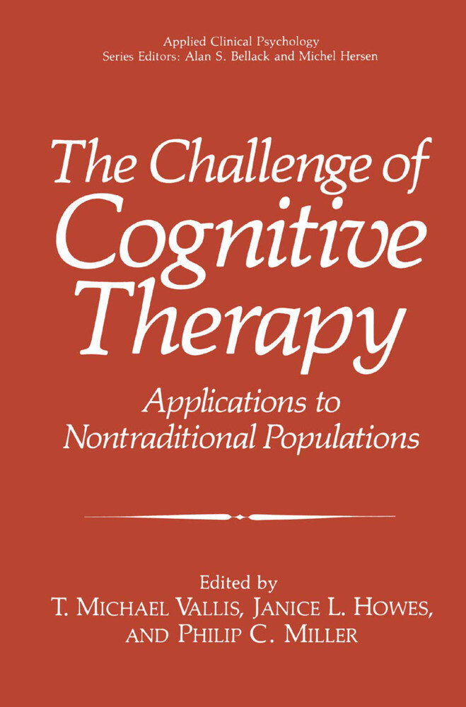 The Challenge of Cognitive Therapy als Buch (kartoniert)