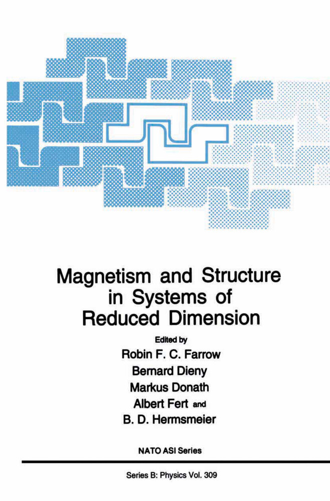 Magnetism and Structure in Systems of Reduced Dimension als Buch (kartoniert)