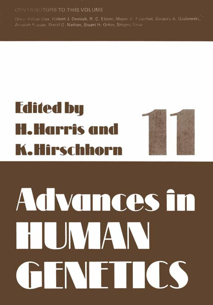 Advances in Human Genetics 11 als Buch (kartoniert)