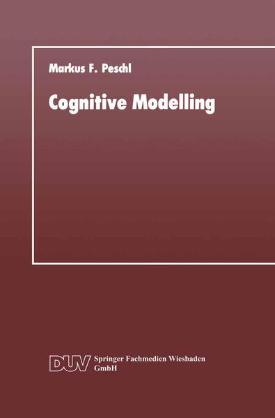 Cognitive Modelling als Buch (kartoniert)