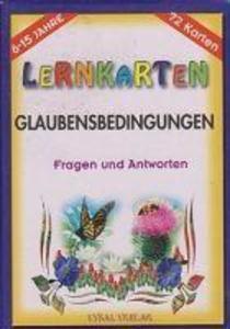 Lernkarten Glaubensbedingungen als Taschenbuch