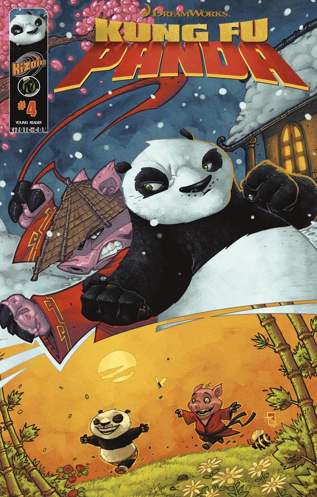 Kung Fu Panda Vol.1 Issue 4 (with panel zoom) als eBook pdf