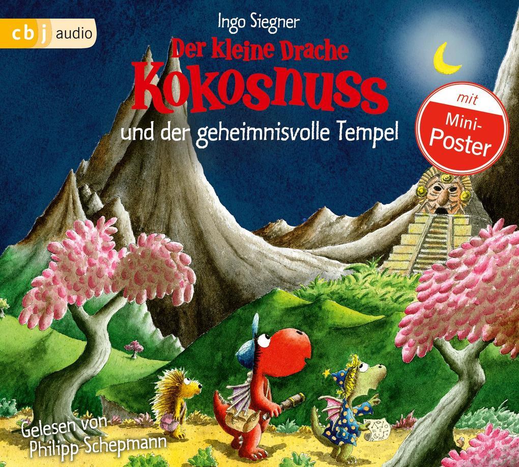 Der kleine Drache Kokosnuss 21 und der geheimnisvolle Tempel als Hörbuch CD